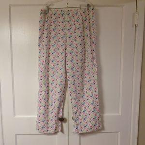 Cacique Flamingo Pajama Bottoms Size 22/24